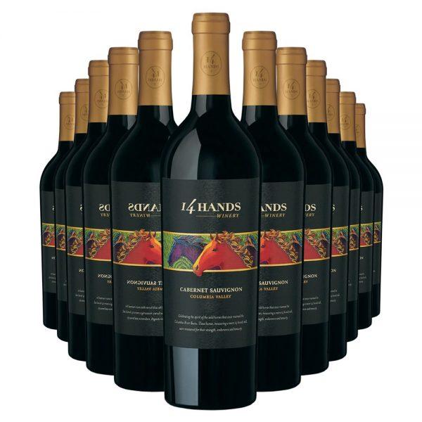 14 Hands Cabernet Sauvignon 12 Bottles