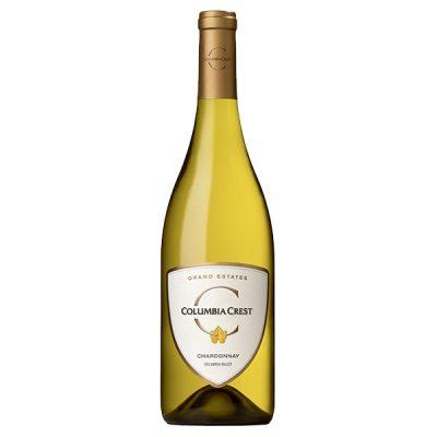 dry white wine chardonnay