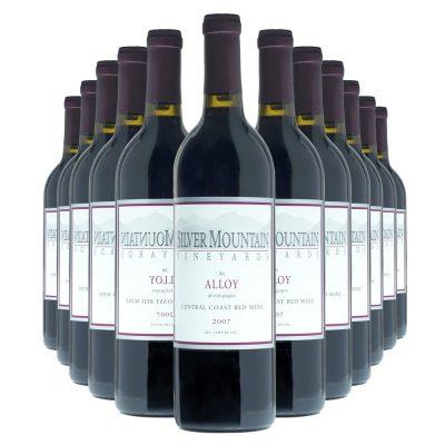 Silver Mountain Alloy Meritage12 Bottles