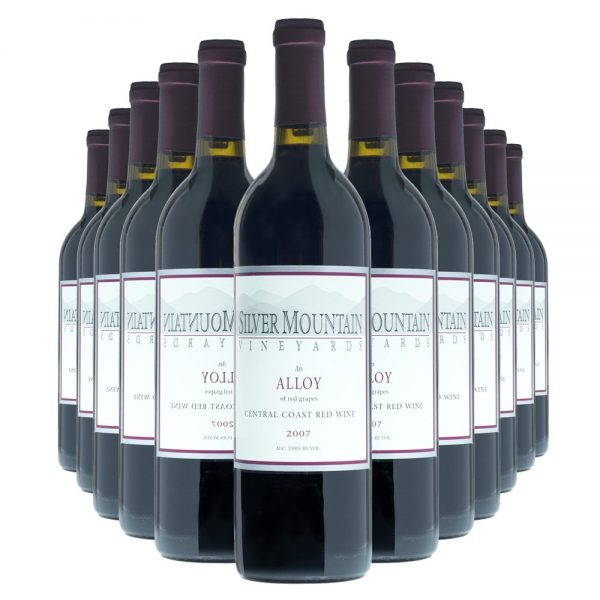 Silver Mountain Alloy Meritage12 Bottles