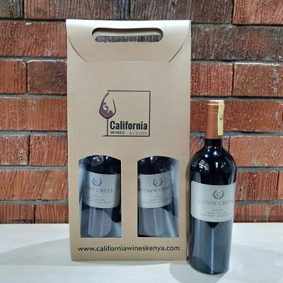 Wine Gift – A Bottle of Napa Valley Cabernet Sauvignon in Organic Bag