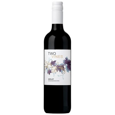 Two Vines Merlot 750ml